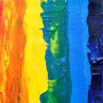 Rainbow painting photo
